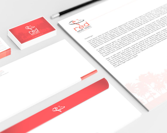 Red Amore Travel – Branding