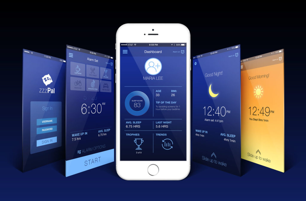 sleep-app-screens